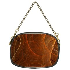 Fractal Color Lines Chain Purses (one Side)  by Simbadda