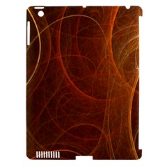 Fractal Color Lines Apple Ipad 3/4 Hardshell Case (compatible With Smart Cover) by Simbadda