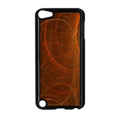 Fractal Color Lines Apple Ipod Touch 5 Case (black) by Simbadda
