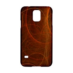 Fractal Color Lines Samsung Galaxy S5 Hardshell Case  by Simbadda