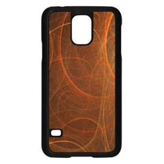 Fractal Color Lines Samsung Galaxy S5 Case (black) by Simbadda
