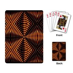 Fractal Patterns Playing Card by Simbadda