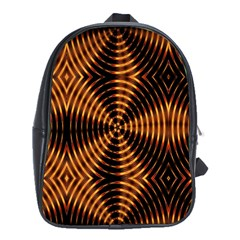 Fractal Patterns School Bags (xl)  by Simbadda