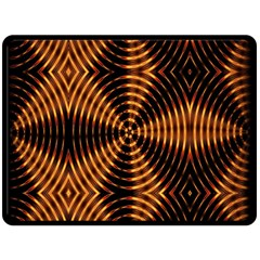 Fractal Patterns Double Sided Fleece Blanket (large)  by Simbadda