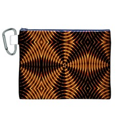 Fractal Patterns Canvas Cosmetic Bag (xl) by Simbadda