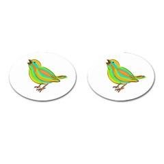 Bird Cufflinks (oval) by Valentinaart