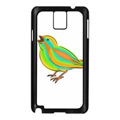 Bird Samsung Galaxy Note 3 N9005 Case (black) by Valentinaart