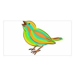 Bird Satin Shawl by Valentinaart