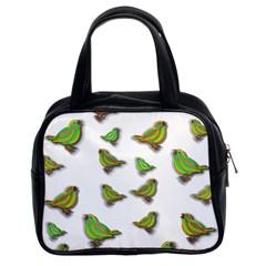Birds Classic Handbags (2 Sides) by Valentinaart