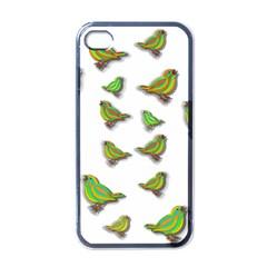 Birds Apple Iphone 4 Case (black) by Valentinaart
