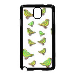 Birds Samsung Galaxy Note 3 Neo Hardshell Case (black) by Valentinaart