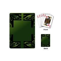 Celtic Corners Playing Cards (mini)  by Simbadda