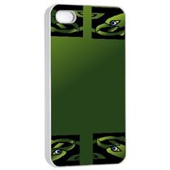 Celtic Corners Apple iPhone 4/4s Seamless Case (White)