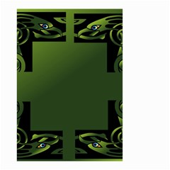 Celtic Corners Small Garden Flag (two Sides) by Simbadda