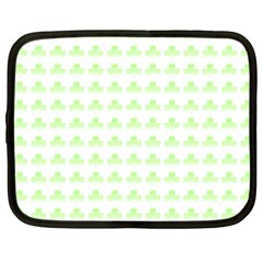 Shamrock Irish St Patrick S Day Netbook Case (xxl)  by Simbadda