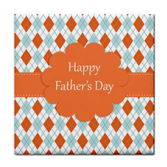 Happy Father Day  Tile Coasters by Simbadda