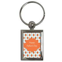 Happy Father Day  Key Chains (rectangle)  by Simbadda