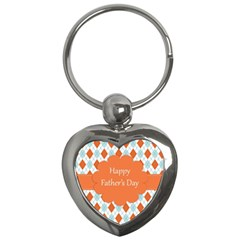 Happy Father Day  Key Chains (heart)
