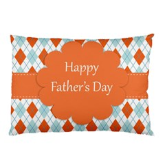 Happy Father Day  Pillow Case (two Sides) by Simbadda