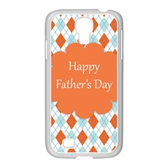 Happy Father Day  Samsung Galaxy S4 I9500/ I9505 Case (white) by Simbadda