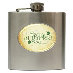Irish St Patrick S Day Ireland Hip Flask (6 Oz) by Simbadda