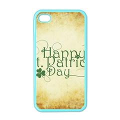 Irish St Patrick S Day Ireland Apple Iphone 4 Case (color) by Simbadda