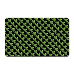 St Patrick S Day Background Magnet (rectangular) by Simbadda