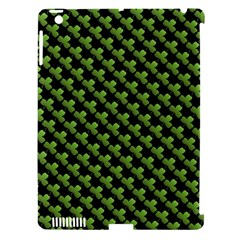 St Patrick S Day Background Apple Ipad 3/4 Hardshell Case (compatible With Smart Cover) by Simbadda