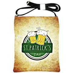 Irish St Patrick S Day Ireland Beer Shoulder Sling Bags by Simbadda