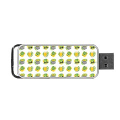 St Patrick S Day Background Symbols Portable Usb Flash (one Side) by Simbadda