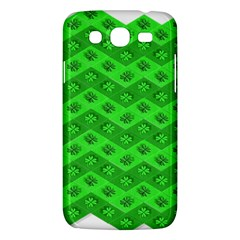 Shamrocks 3d Fabric 4 Leaf Clover Samsung Galaxy Mega 5 8 I9152 Hardshell Case  by Simbadda