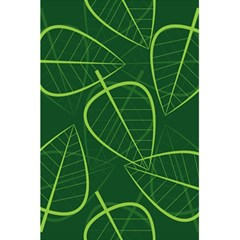 Vector Seamless Green Leaf Pattern 5 5  X 8 5  Notebooks by Simbadda