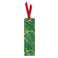 Vector Seamless Green Leaf Pattern Small Book Marks by Simbadda