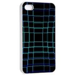 Abstract Adobe Photoshop Background Beautiful Apple Iphone 4/4s Seamless Case (white) by Simbadda