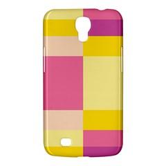 Colorful Squares Background Samsung Galaxy Mega 6 3  I9200 Hardshell Case by Simbadda
