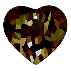 Crystallize Background Ornament (heart) by Simbadda