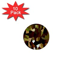 Crystallize Background 1  Mini Buttons (10 pack)  by Simbadda