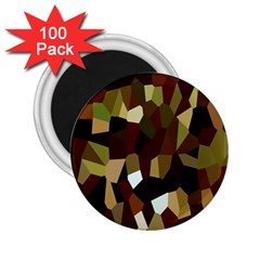 Crystallize Background 2 25  Magnets (100 Pack)  by Simbadda