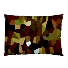 Crystallize Background Pillow Case (two Sides) by Simbadda