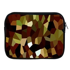 Crystallize Background Apple Ipad 2/3/4 Zipper Cases by Simbadda