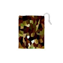 Crystallize Background Drawstring Pouches (xs)  by Simbadda