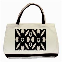 Abstract Background Pattern Basic Tote Bag by Simbadda