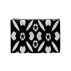 Abstract Background Pattern Cosmetic Bag (medium)  by Simbadda