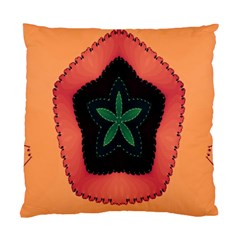 Fractal Flower Standard Cushion Case (one Side) by Simbadda