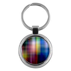 Colorful Abstract Background Key Chains (round)  by Simbadda