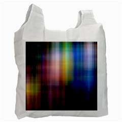 Colorful Abstract Background Recycle Bag (one Side) by Simbadda