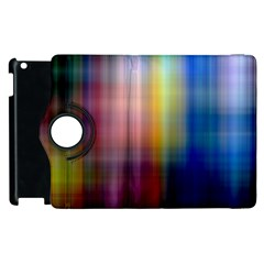 Colorful Abstract Background Apple Ipad 3/4 Flip 360 Case by Simbadda