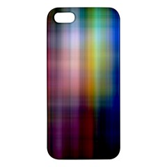 Colorful Abstract Background Apple Iphone 5 Premium Hardshell Case by Simbadda