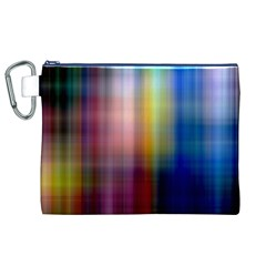 Colorful Abstract Background Canvas Cosmetic Bag (xl) by Simbadda