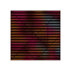Colorful Venetian Blinds Effect Acrylic Tangram Puzzle (4  X 4 ) by Simbadda